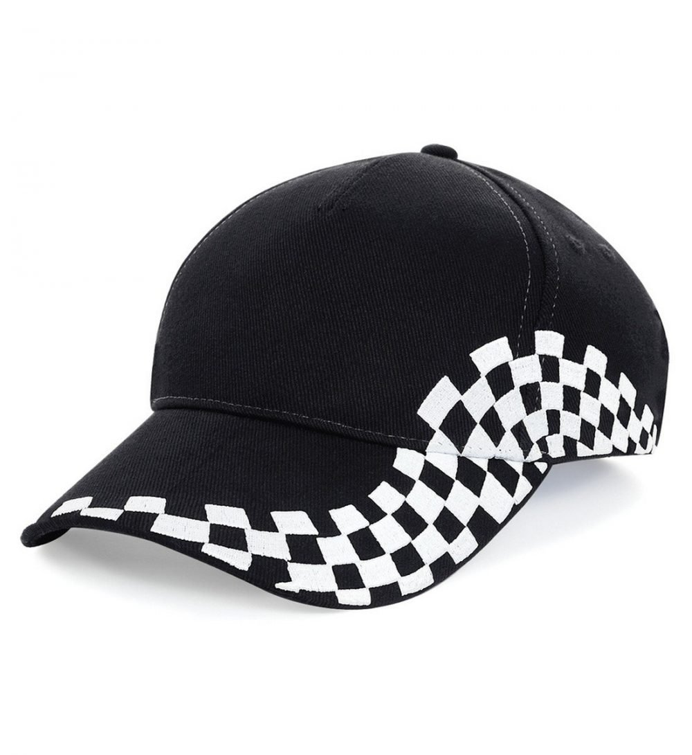 PPG Workwear Beechfield Grand Prix Cap B159 Black Colour
