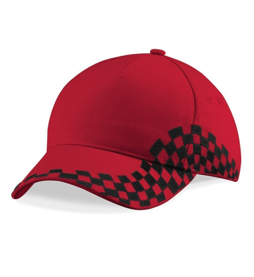 PPG Workwear Beechfield Grand Prix Cap B159 Red Colour