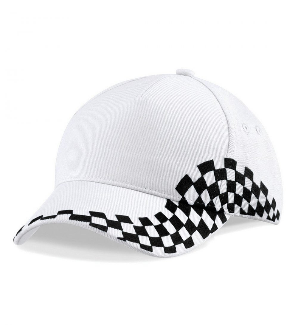 PPG Workwear Beechfield Grand Prix Cap B159 White Colour