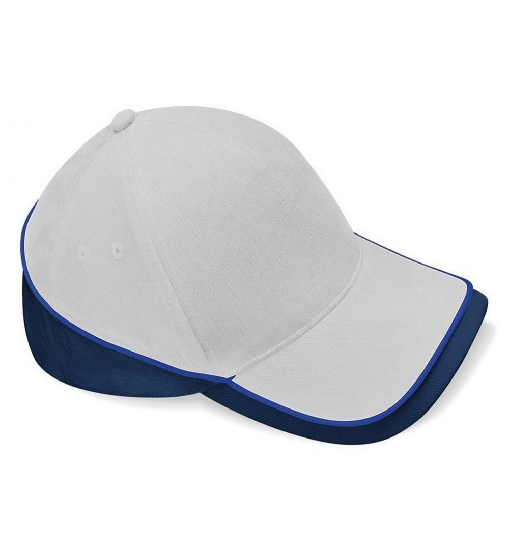 Beechfield Teamwear Competition Cap B171 Grey Navy and Royal Colour