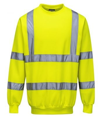 PPG Workwear Portwest Hi Vis Yellow Colour Sweatshirt B303