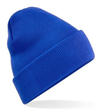 PPG Workwear Beechfield Junior Knitted Hat B45B Bright Royal Colour