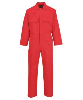 PPG Workwear Portwest Bizweld Flame Retardant Coverall BIZ1 Red Colour