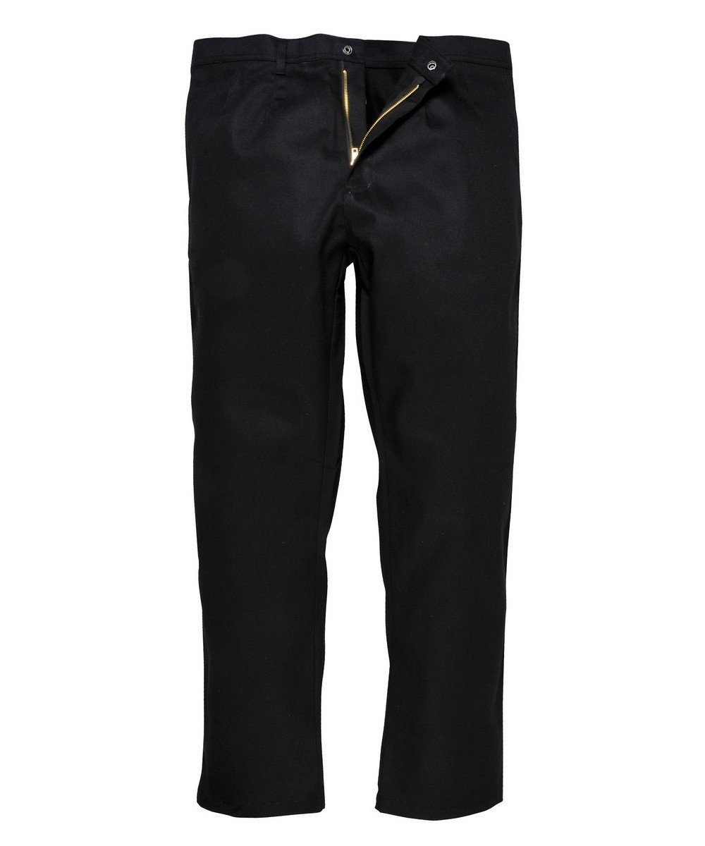 PPG Workwear Portwest Bizweld Flame Retardant Trousers BZ30 Black Colour