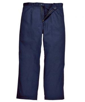 Portwest Bizweld Flame Retardant Trousers BZ30 Navy Blue Colour