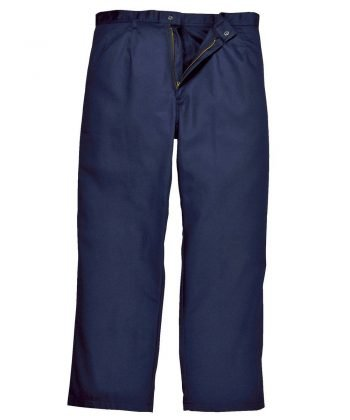 Portwest Bizweld Flame Retardant Trousers BZ30 Navy Blue Colour