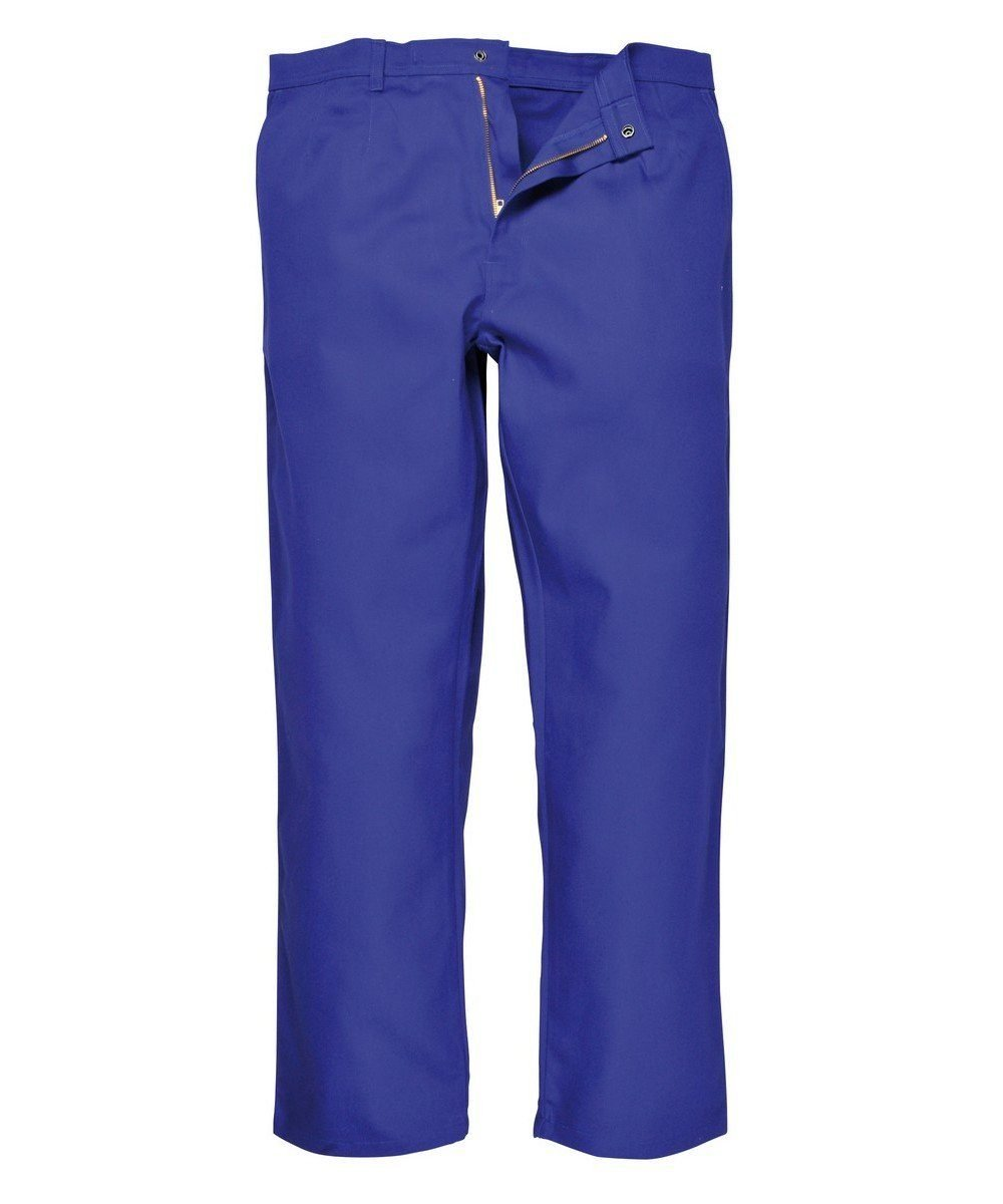 Portwest Bizweld Flame Retardant Trousers BZ30 Royal Blue Colour