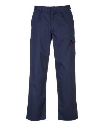 Portwest Bizweld Flame Retardant Cargo Trousers BZ31 Navy Blue Colour
