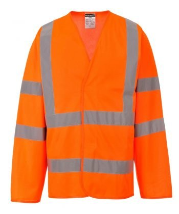 PPG Workwear Portwest Hi Vis Orange Colour Long Sleeved Vest C473