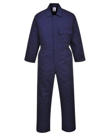 Portwest Standard Stud Front Boilersuit C802 Navy Blue Colour