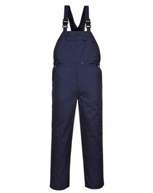 PPG Workwear Portwest Burnley Bib/Brace C875 Navy Blue Colour
