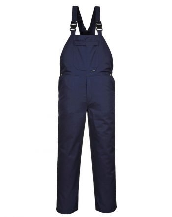 PPG Workwear Portwest Burnley Bib/Brace C875 Navy Blue Colour