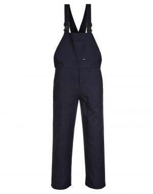 Portwest Cotton Bib/Brace C881 Navy Blue Colour