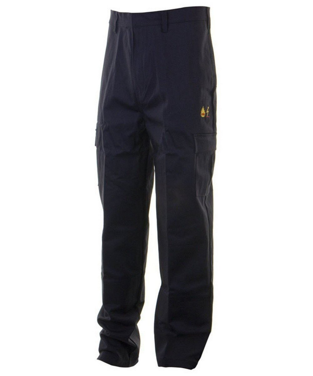 PPG Workwear Click Fire Retardant Anti-Static Trousers CFRAST Navy Blue Colour