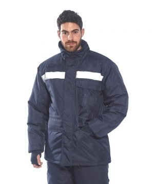 Portwest Coldstore Jacket CS10 Navy Blue Colour