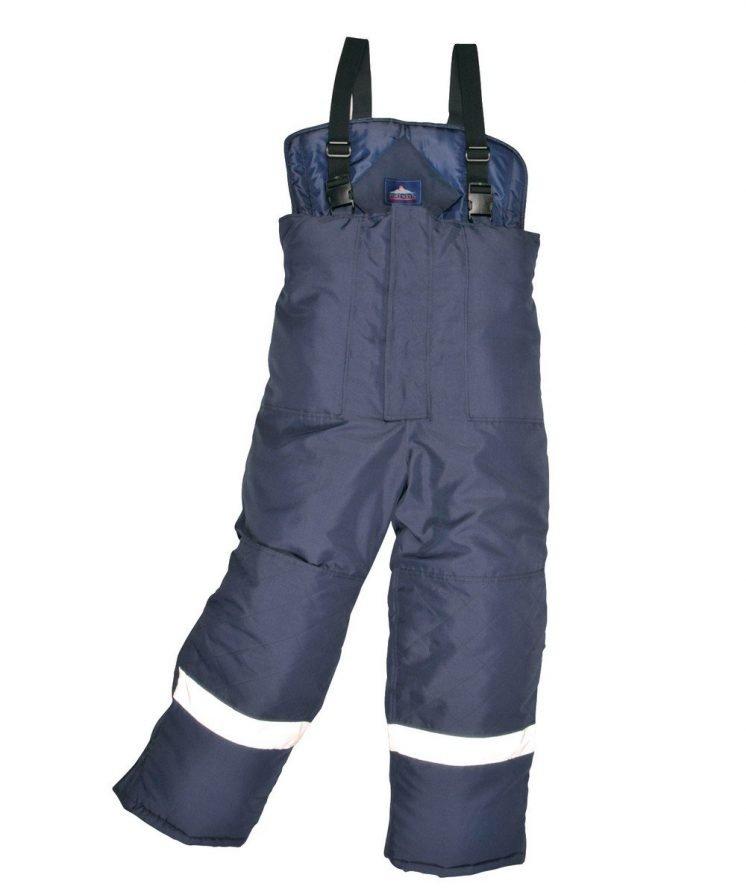 Portwest Coldstore Trousers CS11 Navy Blue Colour