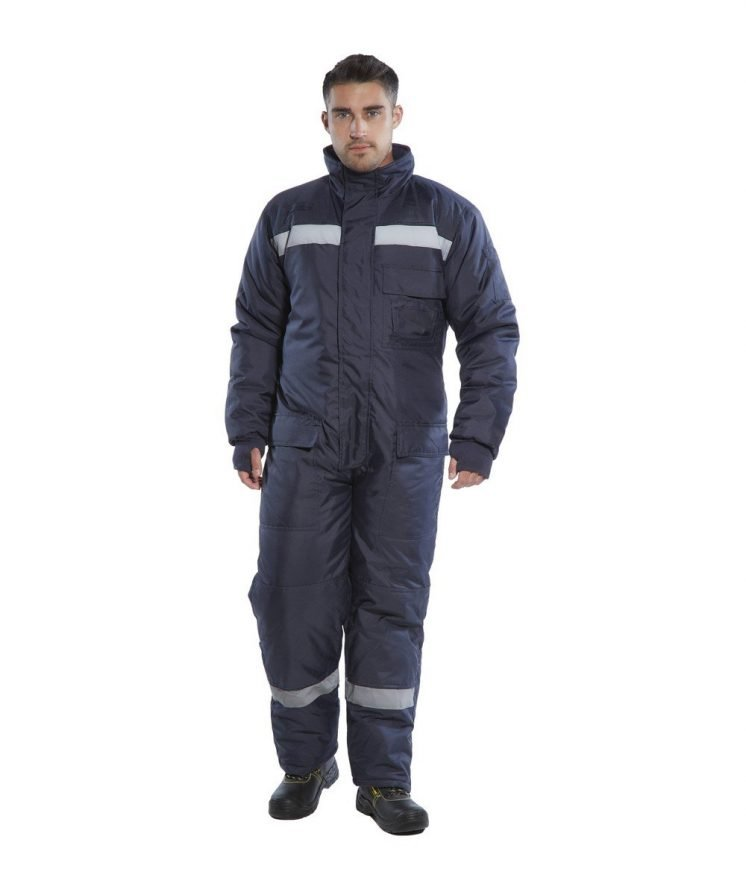 PPG Workwear Portwest Coldstore Coverall CS12 Navy Blue Colour