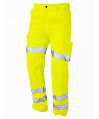 Orn Deluxe Hi Vis Condor Cargo Trouser Yellow Colour 6700