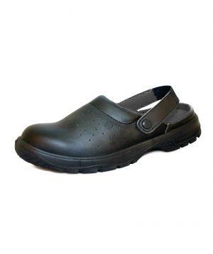 PPG Workwear Comfort Grip Safety Sandal DK41 Black Colour