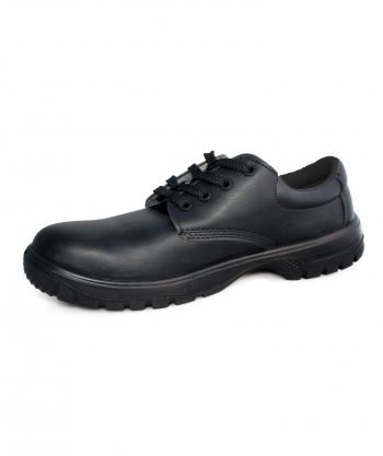 Comfort Grip Lace Up Safety Shoe DK42 Black Colour