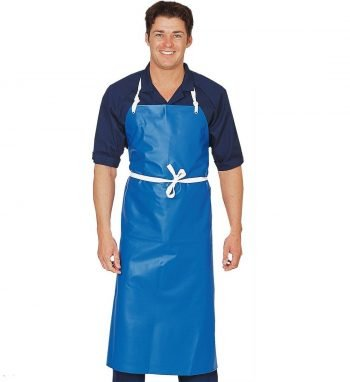 Dennys PVC Heavy Duty Waterproof Apron DP16 Blue Colour