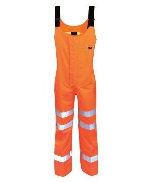 PPG Workwear Orbit Gore-Tex Danube Hi Vis Salopette GB3SAL Orange Colour