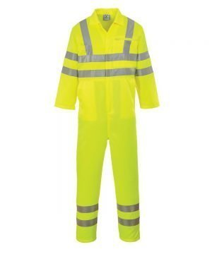 PPG Workwear Portwest Hi-Vis Coverall E042 Yellow Colour