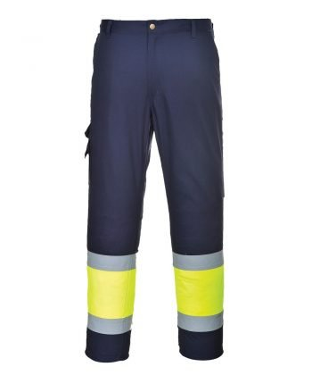 Hi Vis Poly Cotton Trousers