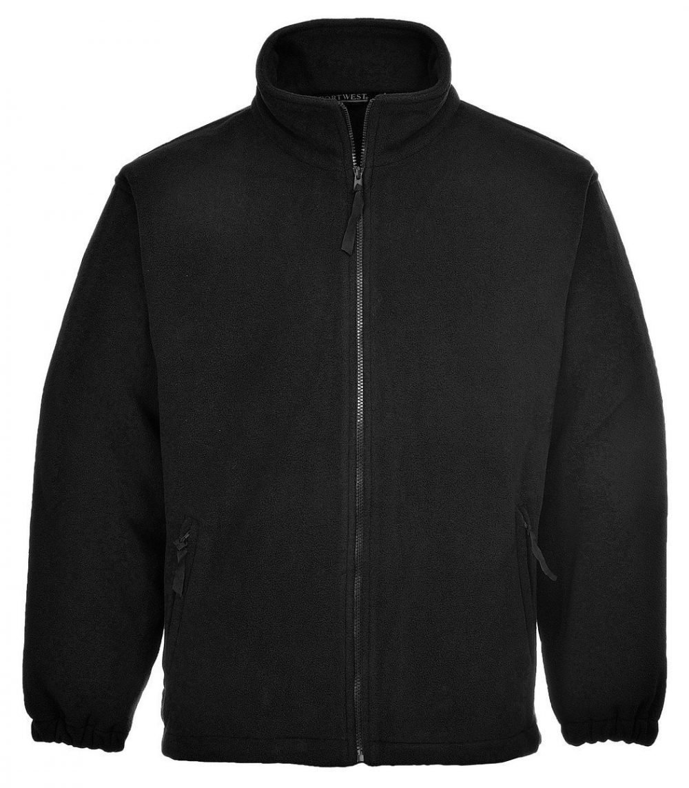 PPG Workwear Portwest Aran Fleece F205 Black Colour