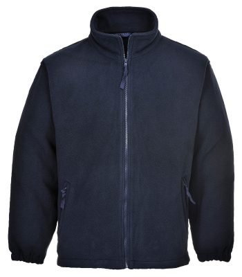 PPG Workwear Portwest Aran Fleece F205 Navy Blue Colour
