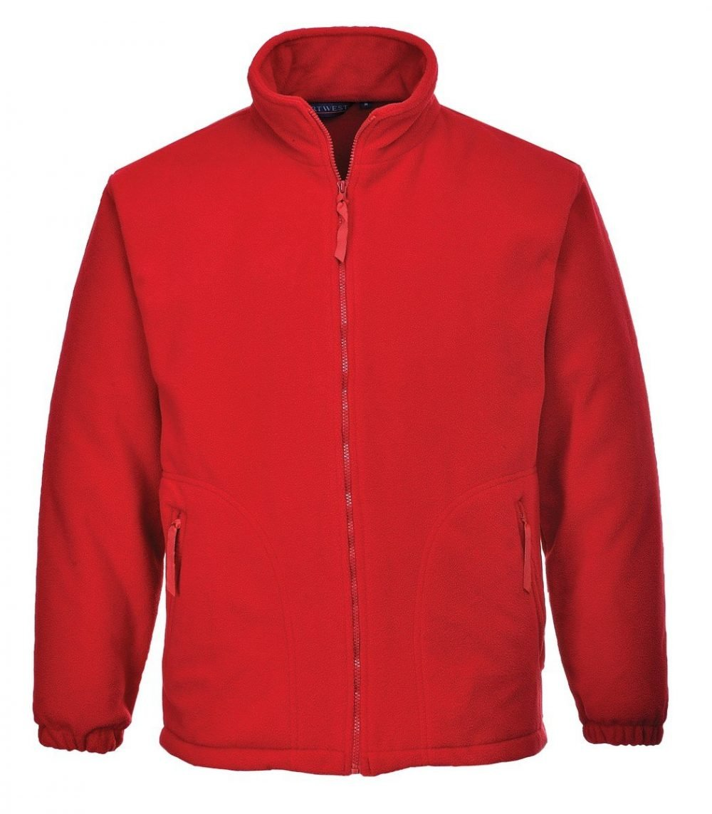 PPG Workwear Portwest Aran Fleece F205 Red Colour