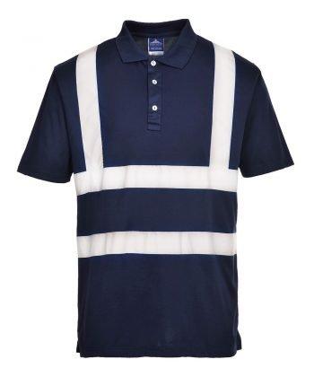 Portwest Iona Polo Shirt F477 Navy Blue Colour