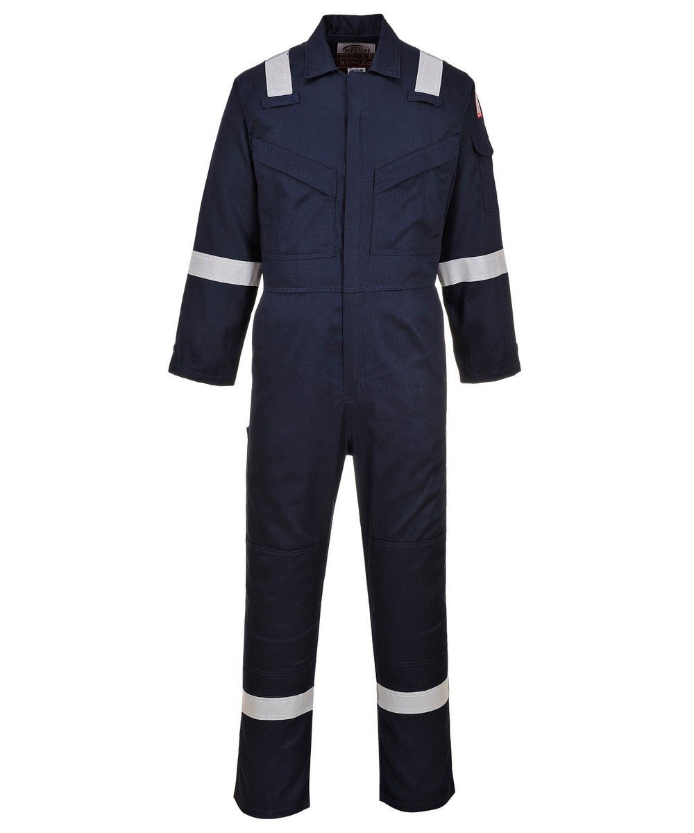 PPG Workwear Portwest FR Anti-Static Super Lightweight Coverall FR21 Navy Blue Colour