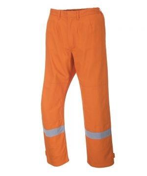 Portwest Bizflame Plus Flame Retardant Trousers FR26 Orange Colour