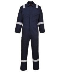 PPG Workwear Portwest Flame Retardant Anti-Static Lightweight Coverall FR28 Navy Blue Colour