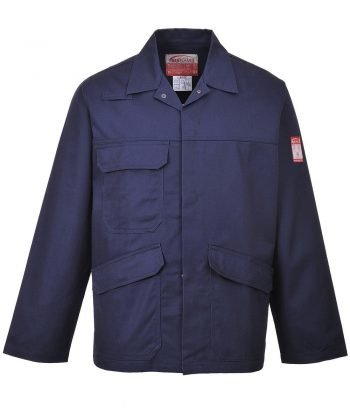 PPG Workwear Portwest Bizflame Pro Flame Retardant Jacket FR35 Navy Blue Colour