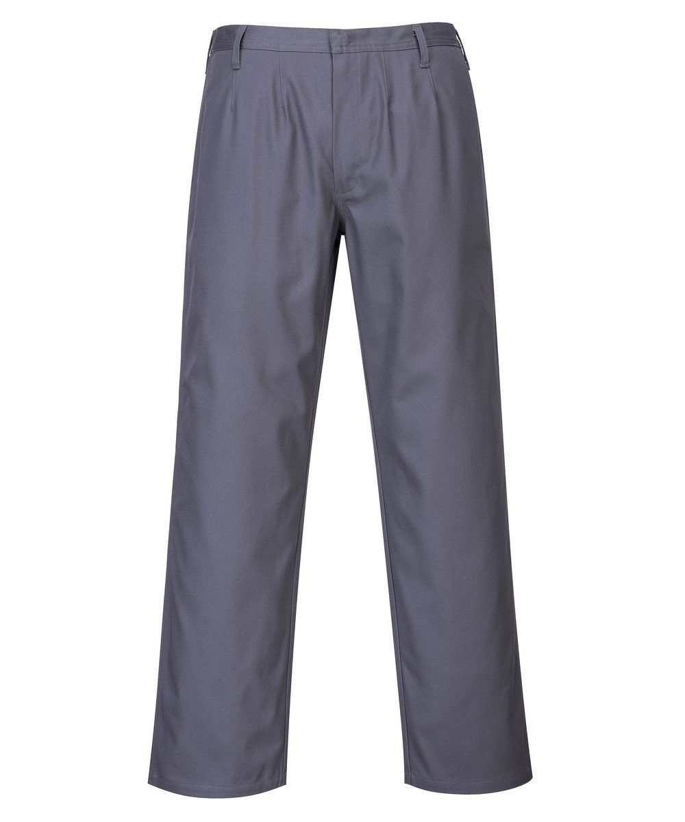 PPG Workwear Portwest Bizflame Pro Flame Retardant Trousers FR36 Grey Colour