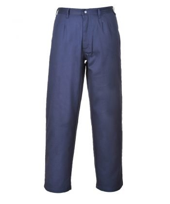 PPG Workwear Portwest Bizflame Pro Flame Retardant Trousers FR36 Navy Blue Colour