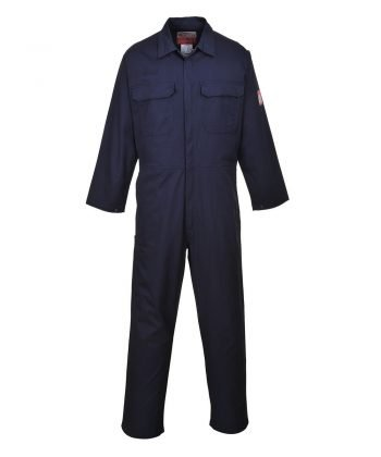 PPG Workwear Portwest Bizflame Pro Flame Retardant Coverall FR38 Navy Blue Colour