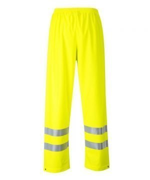 PPG Workwear Portwest Sealtex Flame FR Hi Vis Trousers FR43 Yellow Colour