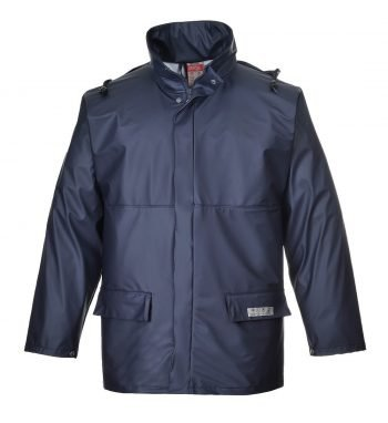 PPG Workwear Portwest Sealtex Flame FR Jacket FR46 Navy Blue Colour