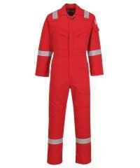PPG Workwear Portwest Flame Retardant Anti-Static Coverall FR50 Red Colour