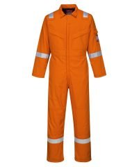 Portwest FR Anti-Static Padded Winter Coverall FR52 Orange Colour