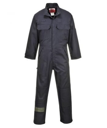 Portwest Multi-Norm Flame Retardant Anti-Static Coverall FR80 Navy Blue Colour