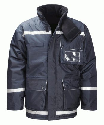 Insul8 Baffin Freezer Jacket FZJ Navy Blue Colour