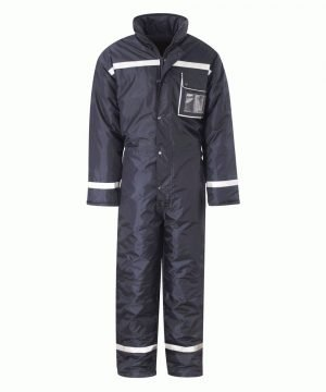 PPG Workwear Insul8 Ellesmere Freezer Coverall FZOP Navy Blue Colour