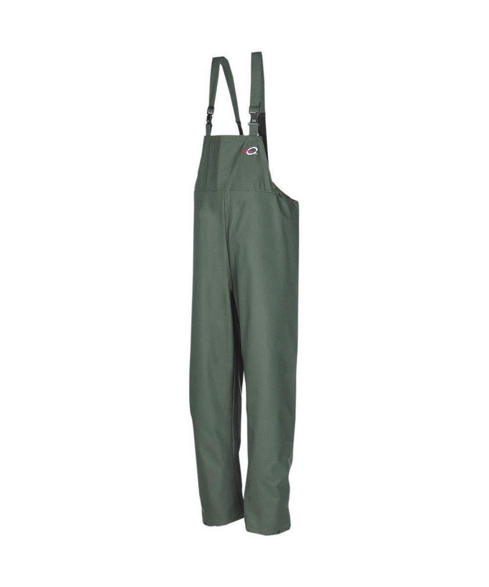PPG Workwear Flexothane Classic Waterproof Bib/Brace 4600 Olive Green Colour