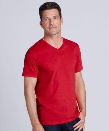 Gildan Mens Soft Style V-Neck T Shirt 64V00