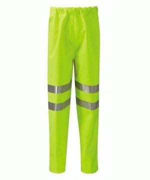 PPG Workwear Orbit Gore-Tex Rhine Hi Vis Over Trouser GB3FWT Yellow Colour