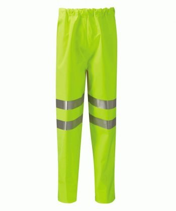 PPG Workwear Orbit Gore-Tex Rhine Hi Vis Over Trouser GB3FWT Yellow Colour